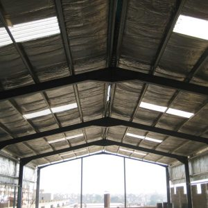 Lakhani Silk Mills Pvt. Ltd. - ​Warehouse Shed